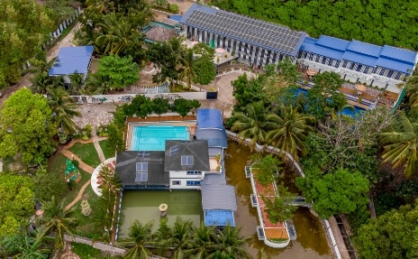 Carcar Eco Farm Resort Top View