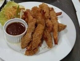 Oatmeal Crusted Shrimp
